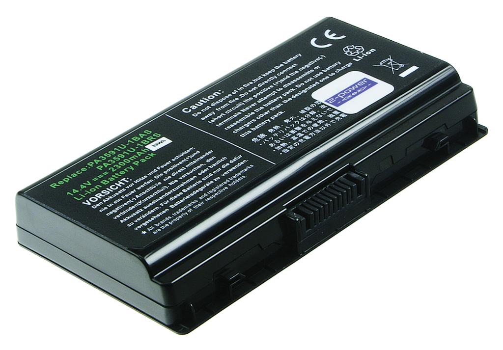 Laptop batteri PA3591U-1BRS til bl.a. Toshiba Equium L40 - 2300mAh