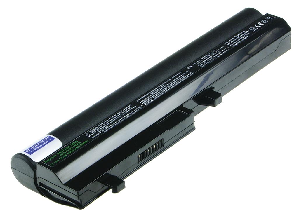 Laptop batteri B-5122H til bl.a. Toshiba NB200 - 4600mAh