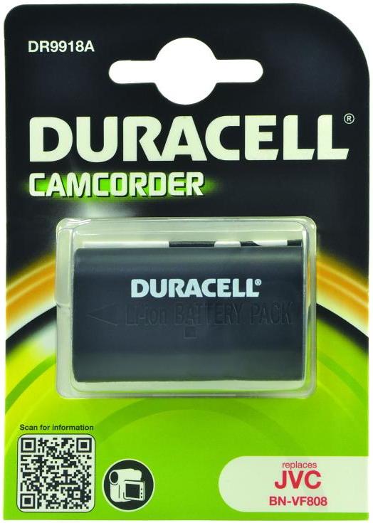 Duracell kamera batteri BN-VF808 til JVC