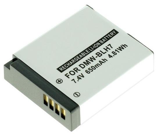 Kamera batteri DMW-BLH7 til Panasonic kamera