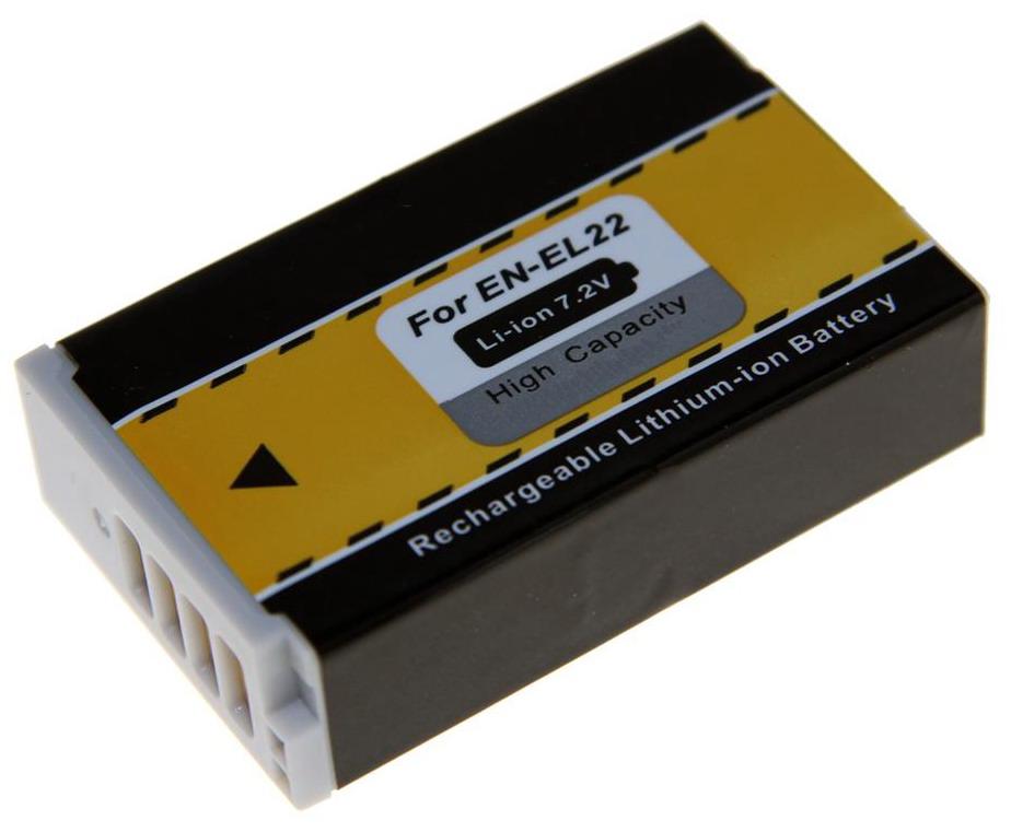 Kamera batteri EN-EL22 til Nikon kamera