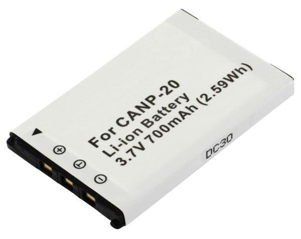 Kamera batteriNP-20til Casiokamera