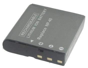 Kamera batteriNP-40til Casiokamera