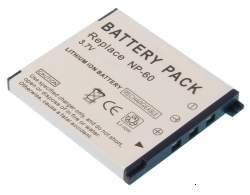 Kamera batteriNP-60til Casiokamera