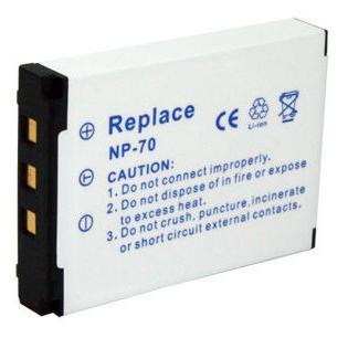Kamera batteriNP-70til Casiokamera