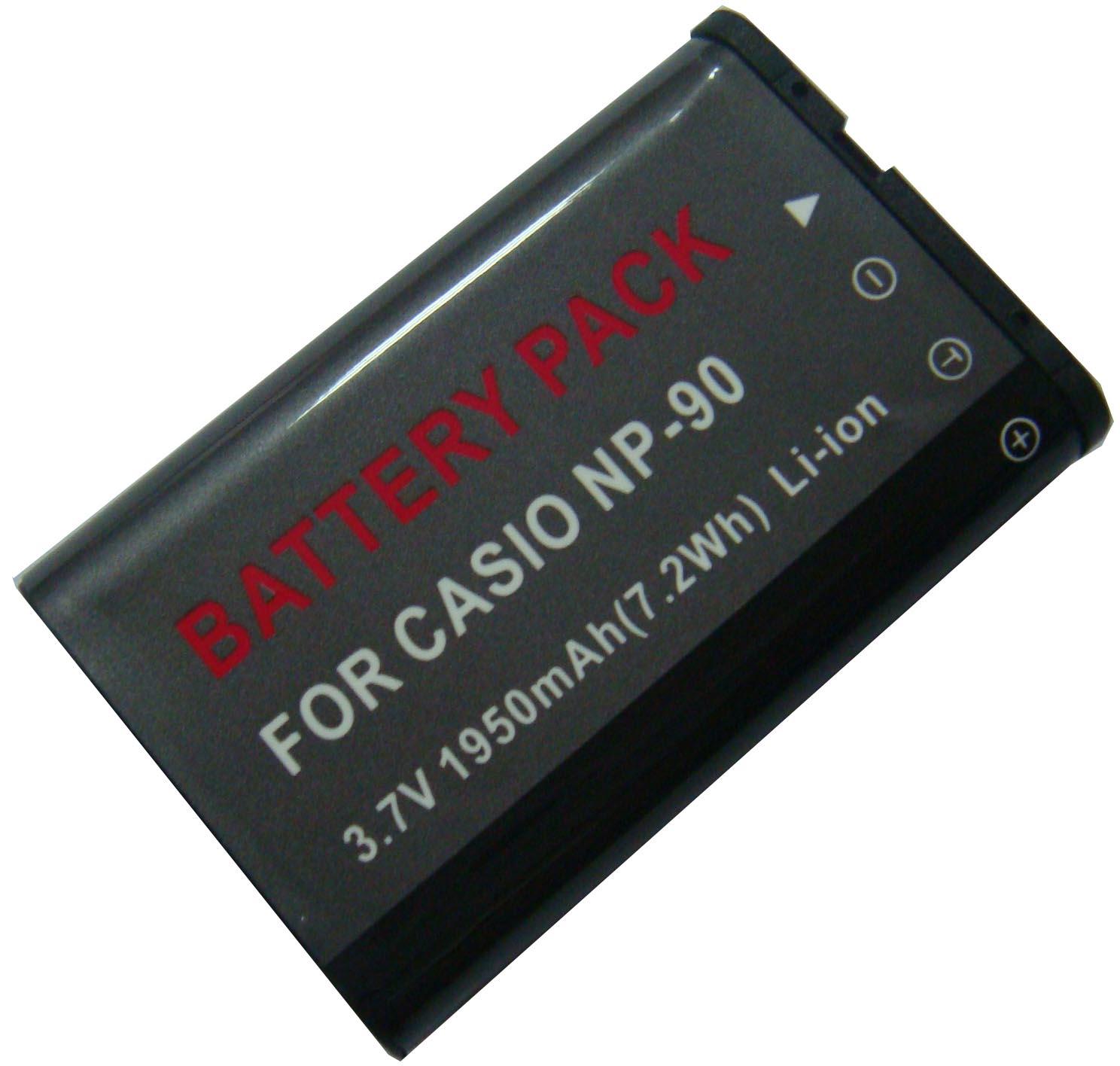 Kamera batteriNP-90til Casiokamera