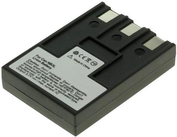 Batteri til Canon kamera Ixy Digital 30