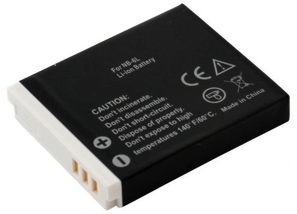 Batteri til Canon kamera Powershot D20