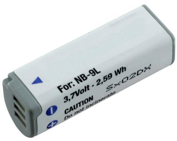 Batteri til Canon kamera IXUS 510 HS
