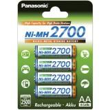 4 st Panasonic AA-batterier - særligt egnet til blitzen