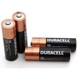 4 stk AA Duracell Alkaline batterier