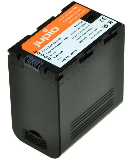 Kamera batteri SSL-JVC75 til JVC videokamera + USB Output (X-Tap)