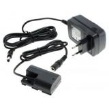 Netadapter ACK-E6 til Canon - plus dummy-batteri