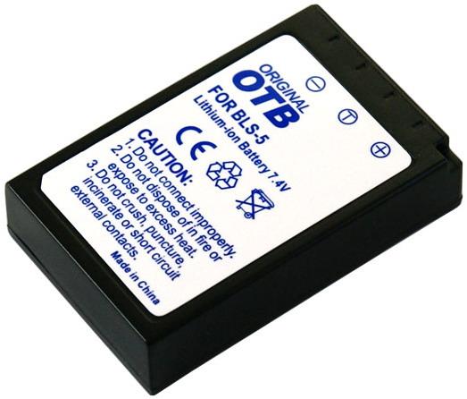 Kamera batteriBLS-5til Olympuskamera