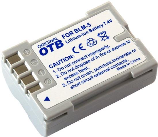 Kamera batteriBLM-5til Olympuskamera