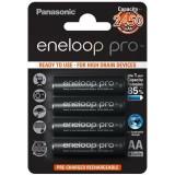 4 stk AA Panasonic Eneloop Pro batterier - 2500mAh