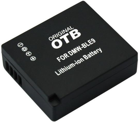 Kamera batteriDMW-BLE9til Panasonickamera