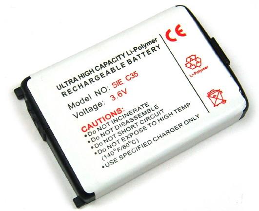 Batteri til Siemens C35i, M35i, S35i