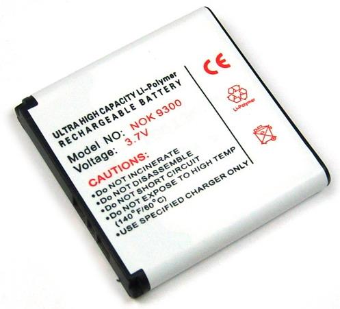 Batteri til bl.a. Nokia 3250, 9300, N73, N93 (BP-6M)