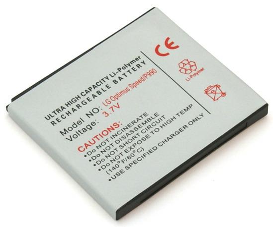 Batteri til bl.a. LG P990 Optimus Speed, P920 Optimus 3D, Star