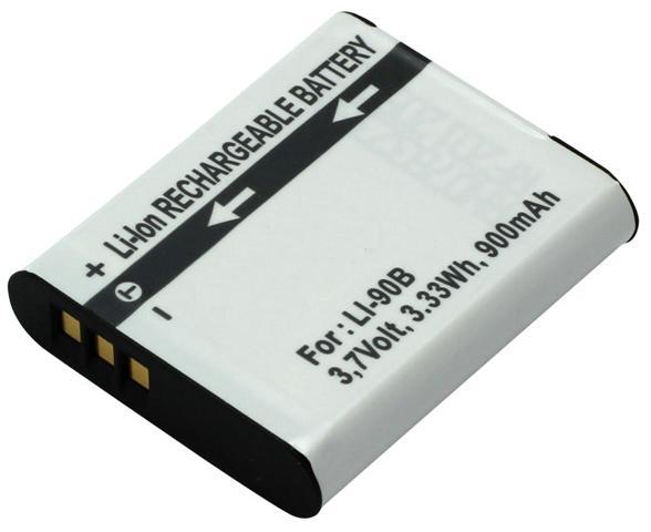 Kamera batteri Li-90B / Li-92B til Olympus kamera