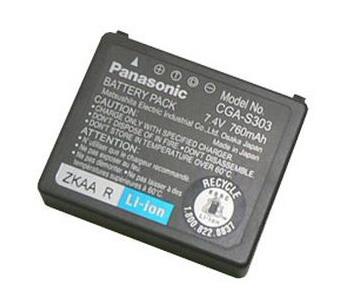Panasonic batteri CGA-S303 - Originalt batteri