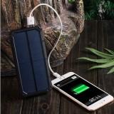 Powerbank eksternt batteri - Extra Power - Solar - 20.000mAh