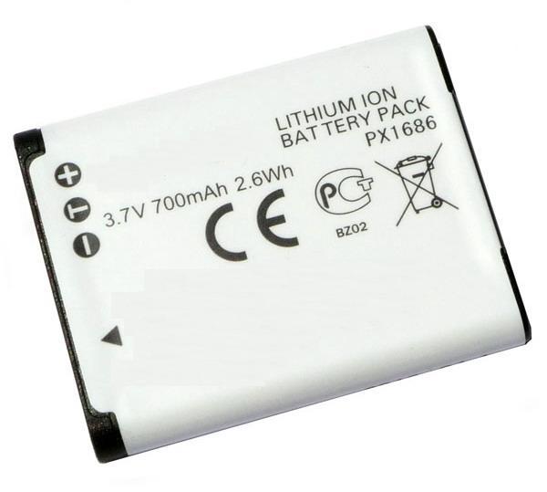Kamera batteri PX1686 til Toshiba video kamera