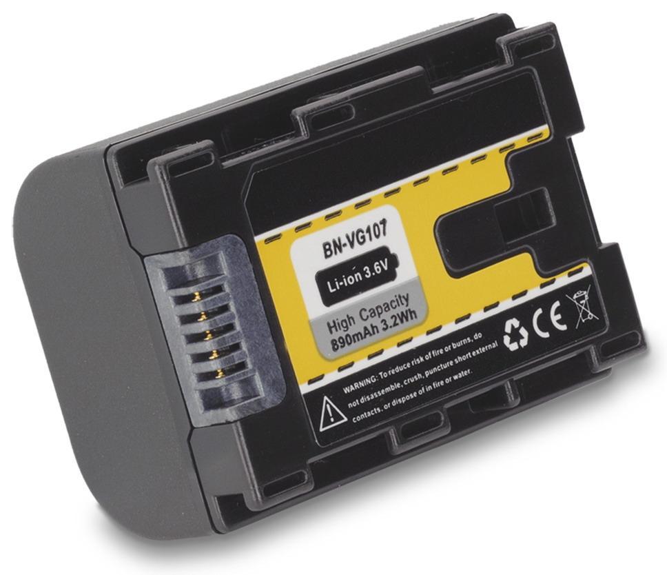 Kamera batteri BN-VG107 til JVC video kamera
