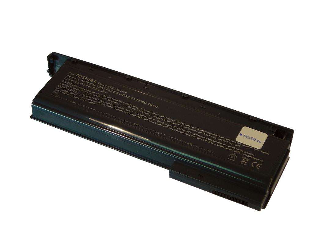 Laptop batteri PA3009U til bl.a. Toshiba Tecra 8100 series - 4500mAh